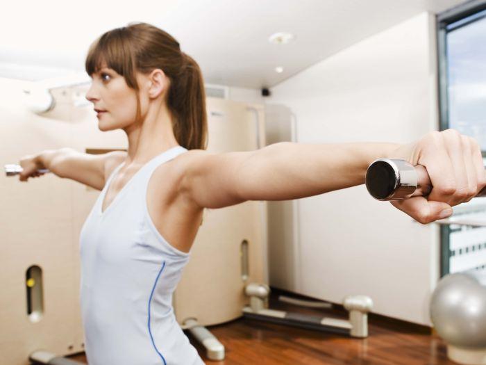 Mulher musculação