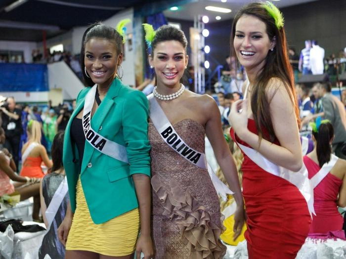 As misses dos 89 países conheceram a cidade de São Paulo durante os preparativos para a final do concurso Saiba mais sobre a vitória da angolana Leila Lope...