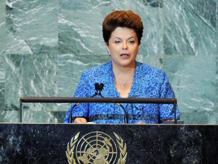 Dilma discursa na ONU