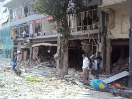 explosão no centro do RIo - monique - 13.10.2011