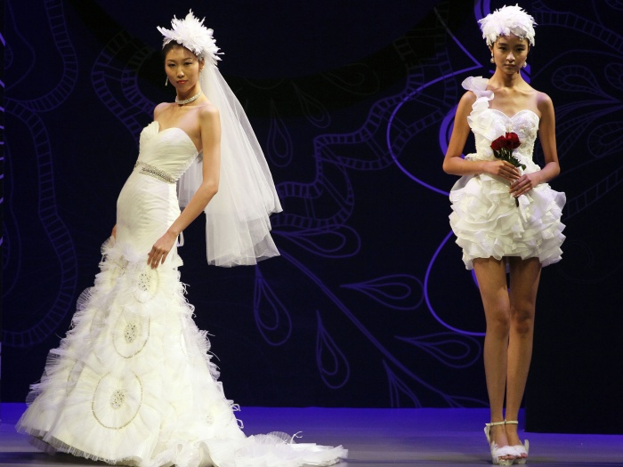 Desfile aconteceu durante o China Fashion Week
