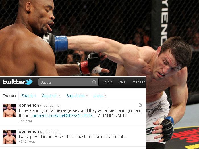 Chael Sonnen diz que aceita enfrentar Anderson Silva no Brasil e ...