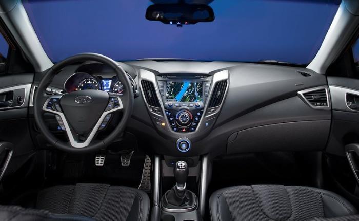 Hyundai Veloster interior G
