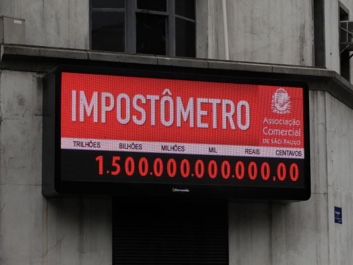 impostômetro marca R$ 1,5 trilhão
