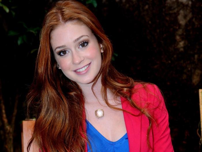Marina Ruy Barbosa vai encarar sua primeira protagonista em 2012, que