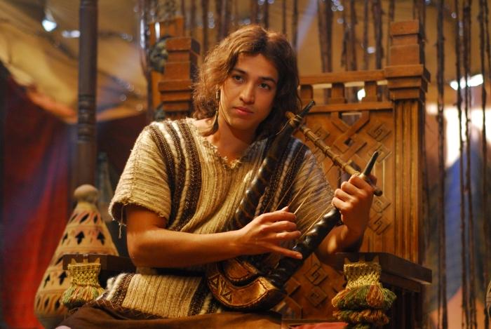 Leandro Leo, o jovem Rei Davi