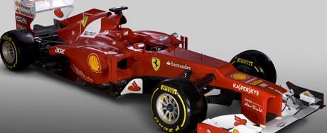 Veja o novo carro da Ferrari para 2012