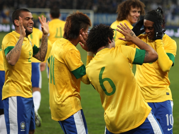 Brasil x Bósnia