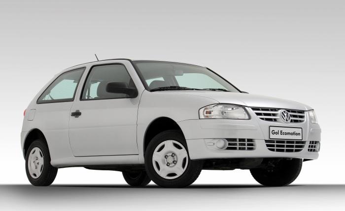 Volkswagen Gol G4 Ecomotion (etanol/gasolina): 8,4/12 km/l (cidade) e 9,8/14,1 km/l (estrada)