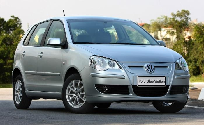 Volkswagen Polo Bluemotion (etanol/gasolina): 7,4/10,8 km/l (cidade) e 10,5/15 km/l (estrada)
