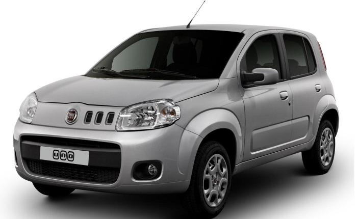 Fiat Uno Evo Economy (etanol/gasolina): 8,7/12,5 km/l (cidade) e 10,4/15,2 km/l (estrada)