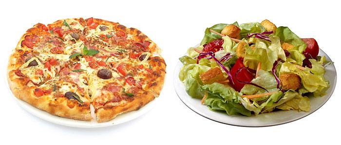 pizzasalada