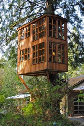 Veja as casas na árvore mais legais do mundo - Foto 13 ...