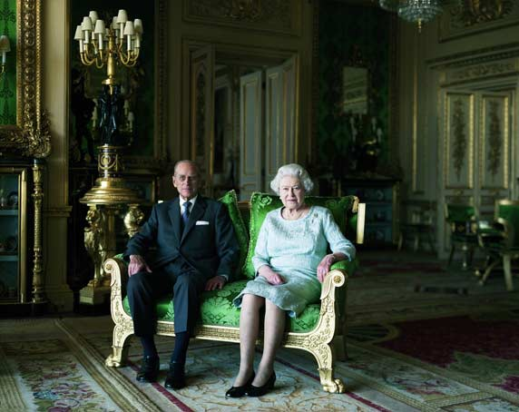 National Portrait Gallery. © Royal Household/ Thomas Struth