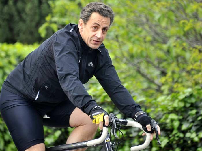 França, sarkozy, bicicleta, 700