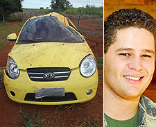 Pedro Leonardo estava sem cinto, diz polícia