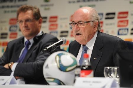 Valcke, Blatter, futebol