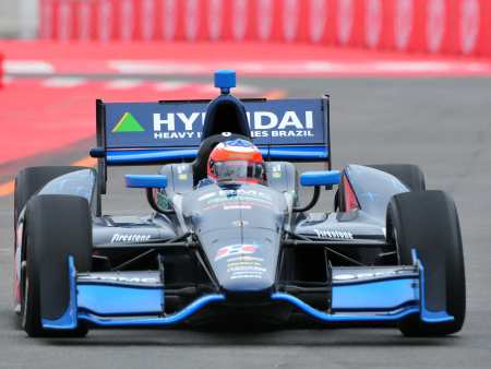 Barrichello na Indy 450