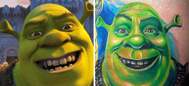 Veja tatuagens inspiradas em personagens famosos - Foto 17