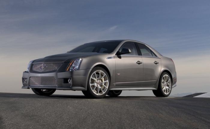 O Cadillac CTV-S é a resposta americana a sedãs esportivos alemães como BMW M5 e Mercedes-Benz E63 AMG