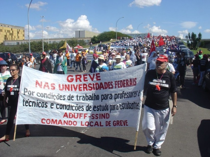 Veja a cobertura completa da greve nacional das institui&ccedil;&otilde;es ...