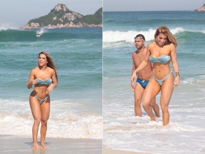 Quer matar o papai? Famosas arrasam na praia - Foto 7 - Famosos ...