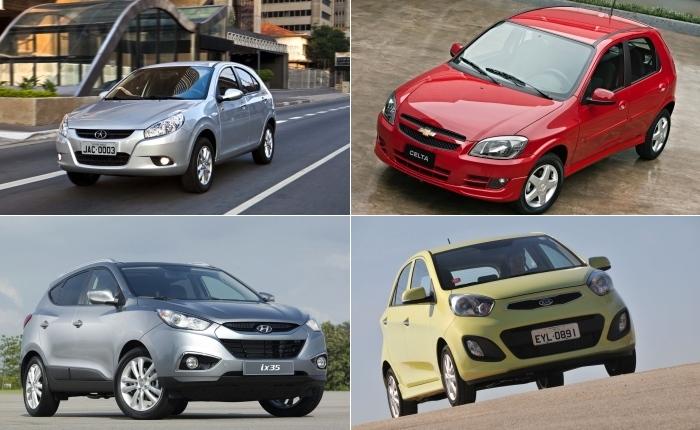 Desde 2008, no auge da crise financeira americana, que o preço real do carro (aquele praticado nas concessionárias) no Brasil não sofria redução tão forte ...