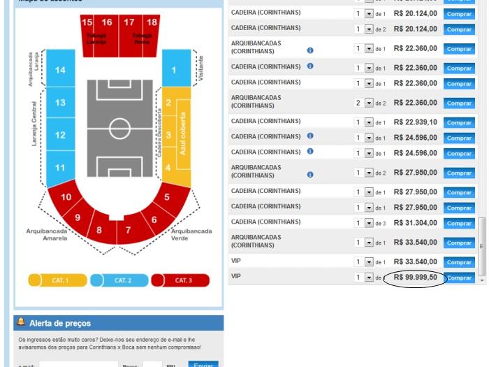 ingressos timão-700