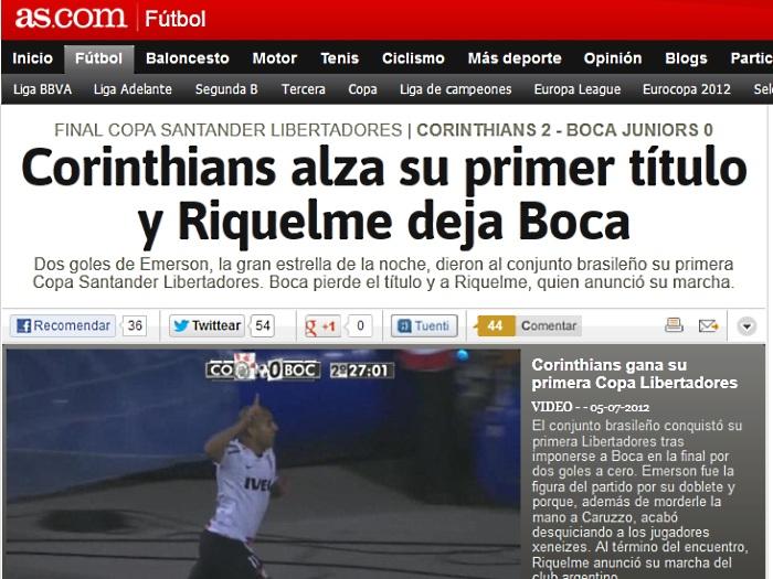 Mundo se rende ao Timão campeão da Libertadores - Foto 4 ...