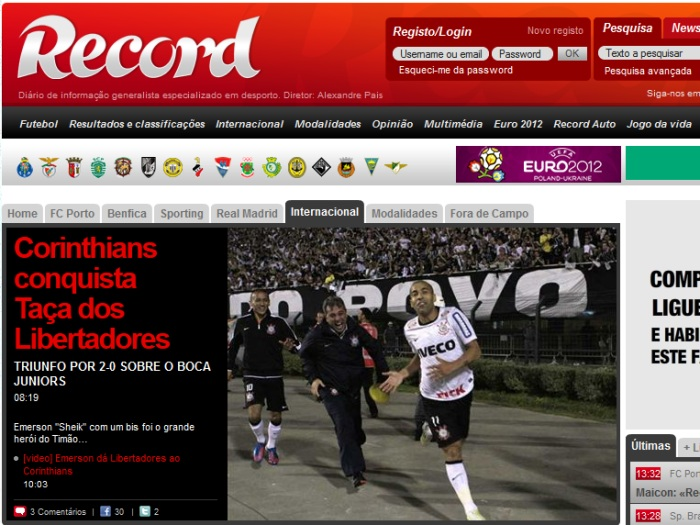 Mundo se rende ao Tim&atilde;o campe&atilde;o da Libertadores - Foto 9 ...