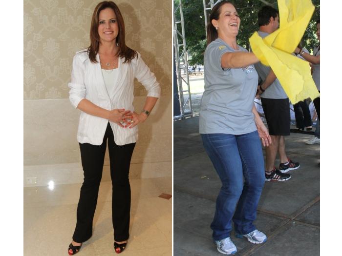 Renata Ceribelli volta a engordar após dieta em público; R7 dá ...