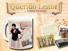 Canecas personalizadas do blog Querido Leitor