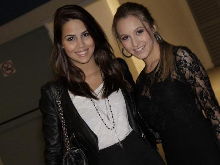Pérola Faria e Carla Diaz
