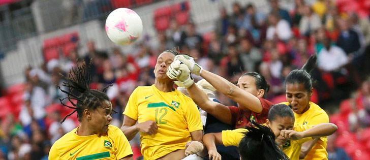 Futebol feminino: Brasil perde, mas já está classificado