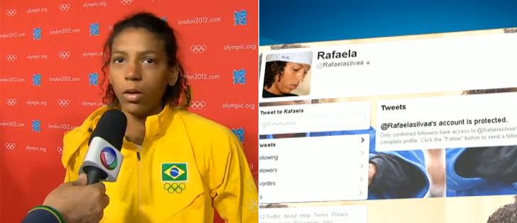 Ofensa racista a judoca brasileira pode virar caso de polícia