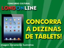 <i>Londonline</i>: você pode ganhar um tablet de última geração!