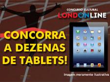 <i>Londonline</i>: garanta já o seu tablet!