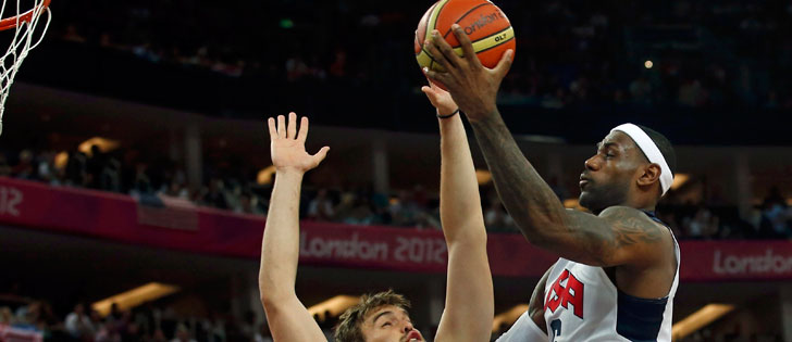 EUA confirmam favoritismo e ganham o ouro no basquete
