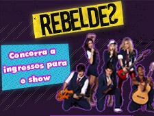 <i>Rebeldes</i>: assista ao show da banda em São Paulo!
