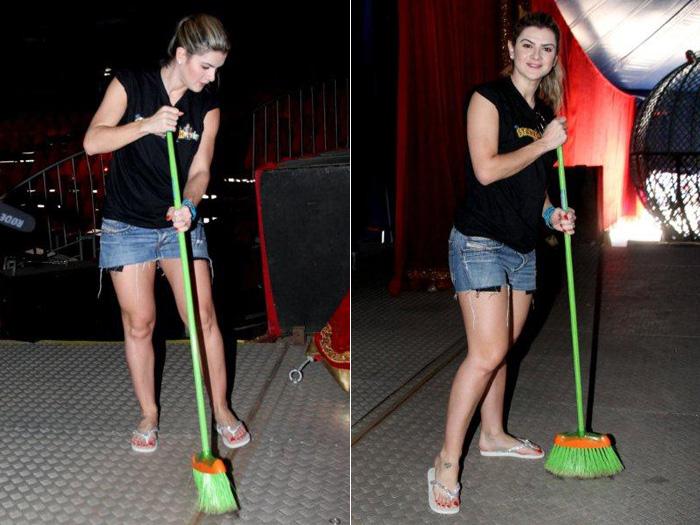 Mirella e Lisi viram faxineiras de circo para o Tudo é Possível - Foto ...