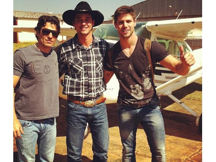 Jonas, Fael e Maurício
