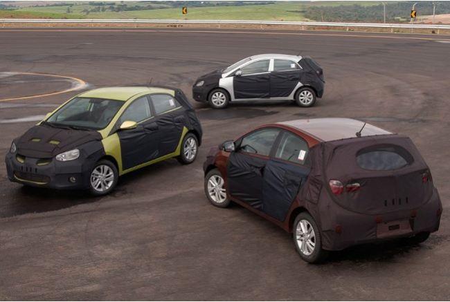 Com porte maior do que o do Kia Picanto, o HB20 irá competir em tamanho e preço com Volkswagen Gol e Fiat Uno e Palio