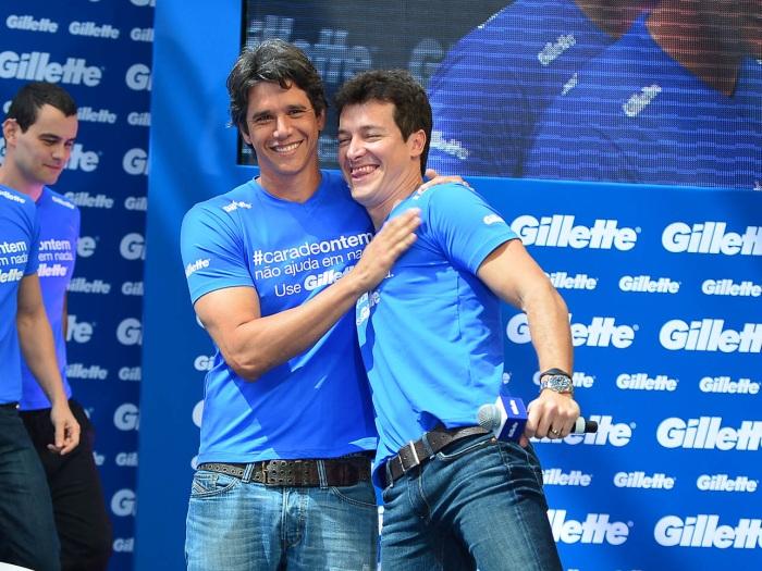 Rodrigo Faro e Márcio Garcia