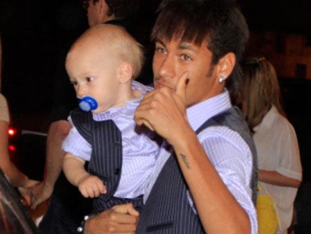Neymar Davi aniversario