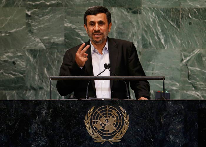 Ahmadinejad: o mundo de hoje &eacute; baseado na injusti&ccedil;a ...