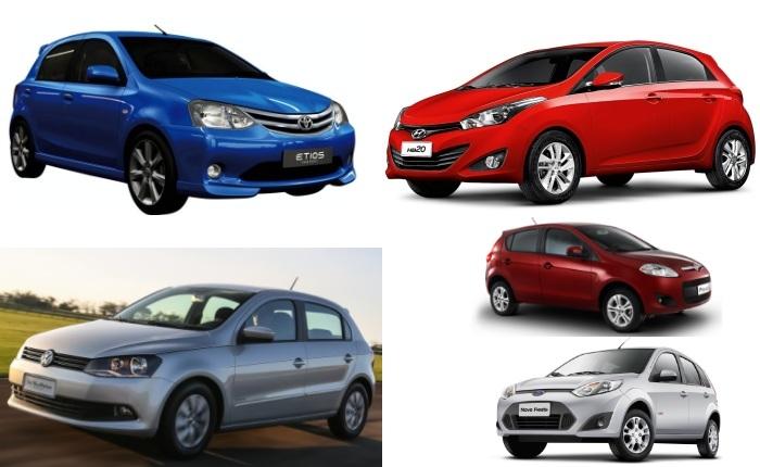 Recém-lançados no mercado, Hyundai HB20 e Toyota Etios prometem abalar o mercado com design e conjunto mecânico mais modernos em relação à concorrência. Ma...