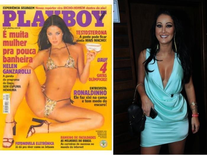 Helen Ganzarolli Nua Na Playboy Confira Todas As Fotos