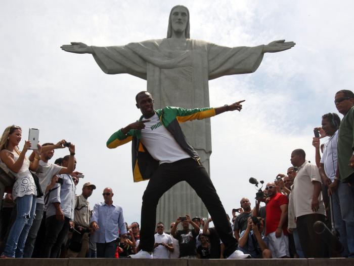 Mais Rapido do Mundo Homem Usain Bolt Homem Mais Rápido