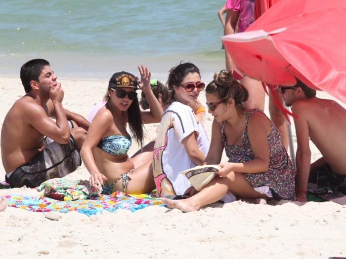 Foi Flagrada Na Praia Da Barra Tijuca No Rio De Janeiro Tarde