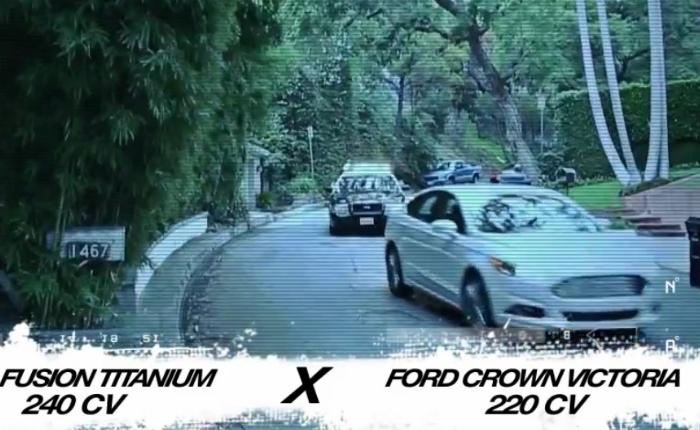 Ford Fusion enfrenta Ford Crown Victoria